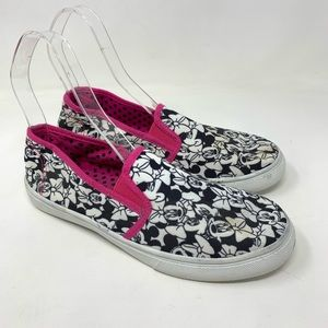 Shoes - Minnie Mouse slip on shoes size 10